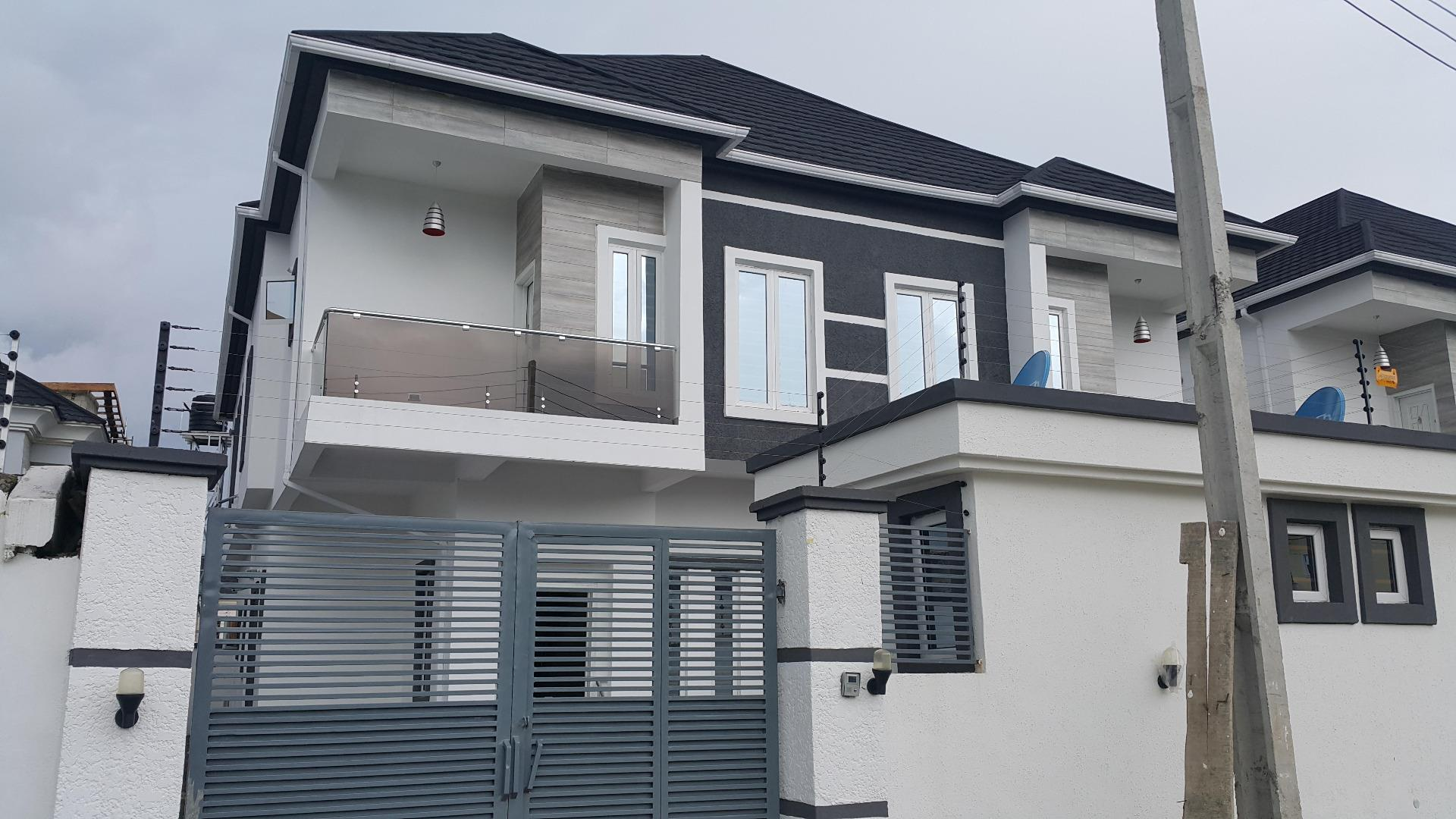 Estate for sale new 4 bedroom house for sale in lekki for New four bedroom houses